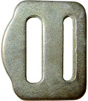Пряжка стальная для страховочных систем 27мм Krok 06412