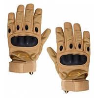 Тактические полнопалые перчатки Oakley песок, тан