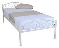 Кровать полуторная металлическая Polo 900x2000 beige Бесплатная доставка