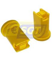 Двухструйный инжекторный распылитель EZK TWIN 110-02 для опрыскивателя