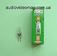 Галогенная капсульная лампа 12V 20Wt цоколь G4