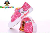 Кеды для девочки Шалунишка Hello Kitty  Размеры: 26-31