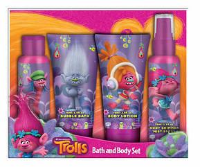 П, Подарочный набор для ванны Trolls Bath and Body Тролли