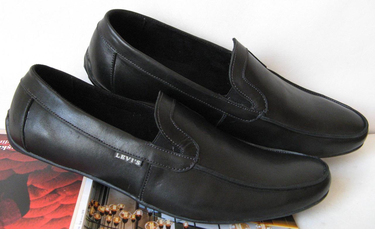 Levis жесть! Качественные весна лето осень мужские в стиле Левис мокасины туфли обувь кожа