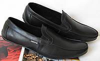 Levis жесть! Качественные весна лето осень мужские в стиле Левис мокасины туфли обувь кожа, фото 1