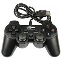 Джойстик проводной PC USB 706 с вибрацией