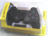 Джойстик проводной PS2 (желтый блистер)