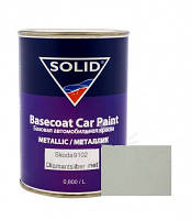 """9102 Skoda Базовое покрытие """"металлик"""" Solid """"Diamantsilber met"""", 0,8л"""