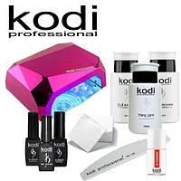 Набор для гель лака Kodi LED CCFL лампой 36 w