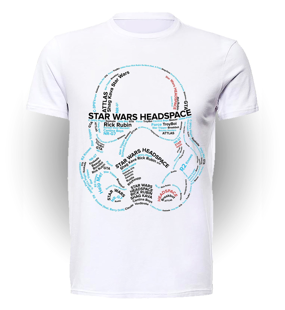Футболка GeekLand Звёздные войны Star Wars headspace SW.01.070