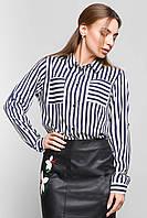 Рубашка женская Полоса, рубашка в полоску женская, женская летняя рубашка, дропшиппинг поставщик