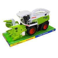 Комбайн 8289 инерционный, игровой детский комбайн, игрушка, игрушечная техника