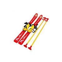Лижі з палицями дитячі, арт.3350 81 х 47 х 22,5 см,лыжи детские