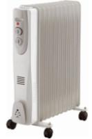 Масляный радиатор Sanico OHA07S-11G на 11 секций, мощность 2500 Вт на колесиках плавная регуляция температуры