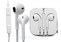 Наушники гарнитура Apple Earpods iPhone 5.