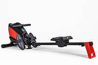 Гребной тренажер Hop-Sport HS-060R Cross red для дома и спортзала