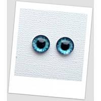 Глазки стеклянные для кукол и игрушек (пара), 8 мм