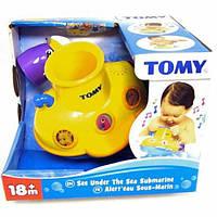 Игрушка для ванной Подводная лодка TOMY