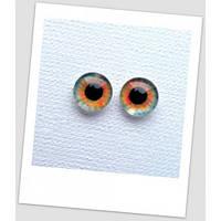 Глазки стеклянные для кукол и игрушек (пара), 10 мм