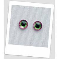Глазки стеклянные для кукол и игрушек (пара), 16 мм