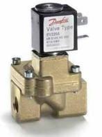 Клапан электромагнитный EV220W 1 дюйм (в комплекте с катушкой и разъемом) 042U426632 Данфосс