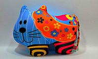 Антистрессовая игрушка Кот в цветочек (DT-ST-01-62)