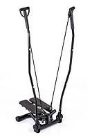 Степпер со стойкой Hop-Sport HS-40S для дома и спортзала