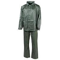 Дождевой костюм (S) тёмно-зелёный, полиэстер MFH 08301B