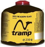 Баллон газовый резьбовой 230г Tramp TRG-003