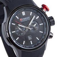 Мужские наручные часы Curren 8175 водонепроницаемые + дата