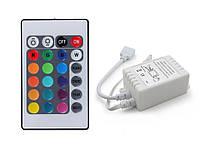Контроллер с радиопультом  для светодиодной RGB ленты SMD3528-5050 12 В