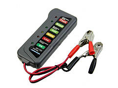 Цифровой автомобильный вольтметр для аккумулятора 12 В AutoTest