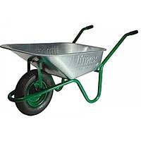 Тачка cадово-строительная одноколесная 90/160-1 зеленая Limex