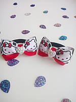 Бантики  для волос ручной работы  Hello Kitty