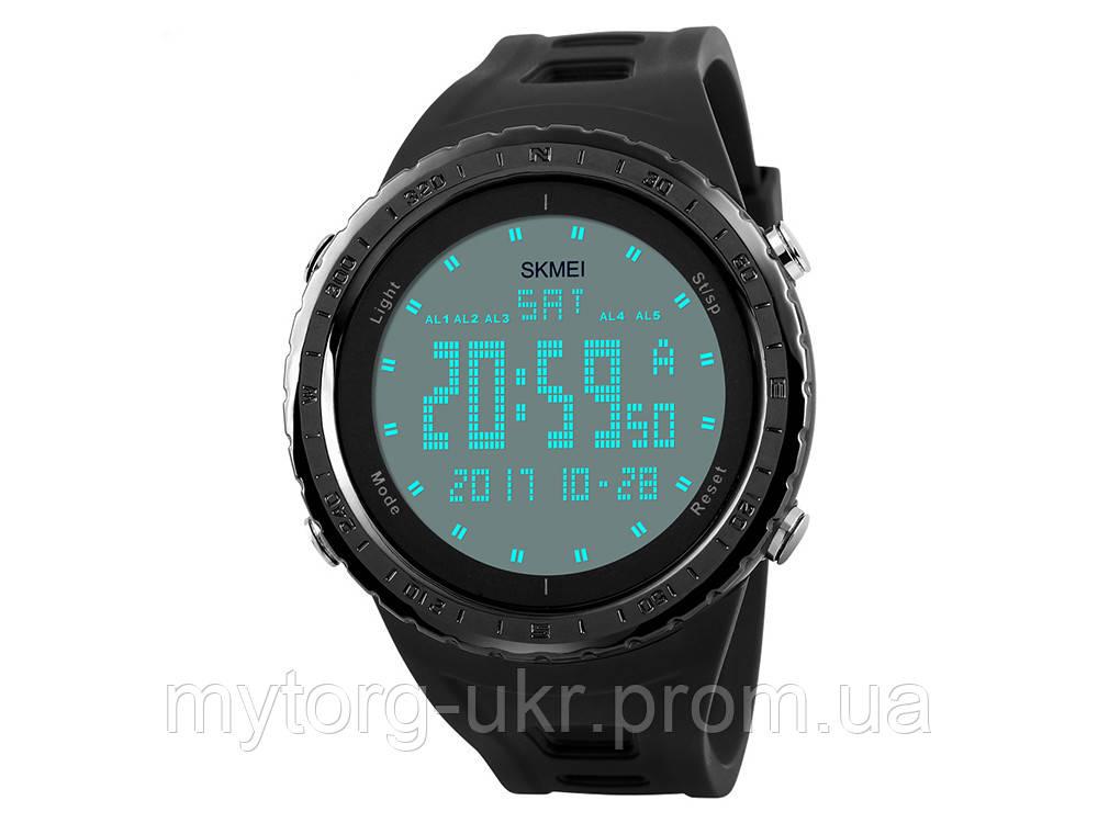 Водонепроникні спортивні чоловічі годинники Skmei  Чорний - MyTorg-ukr в Запорожье