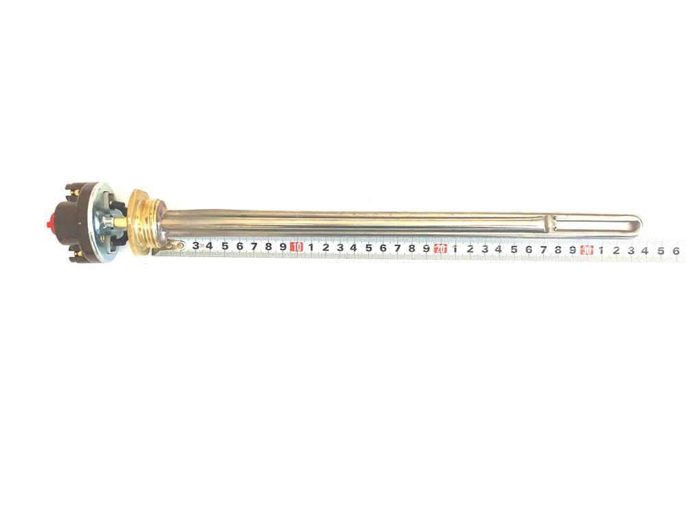 """Тэн для алюминиевых батарей с терморегулятором 1000 W (нержавейка) с резьбой 1"""" BALCIK Турция."""