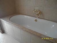 Столешница в ванную комнату из натурального камня 2