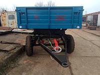 Причеп тракторний 2ПТС-4, новий, без надставних бортів, фото 1