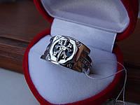 Срібна Печатка оніксом, фото 1