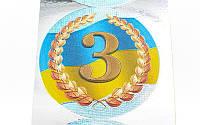 Наклейка на медаль 3е место