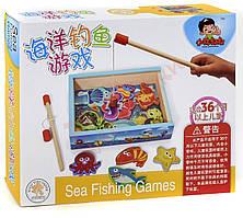 Рыбалка деревянная магнитная (Китай)
