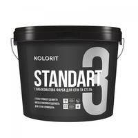 Краска интерьерная Kolorit Standart 3 базис C 0,9л