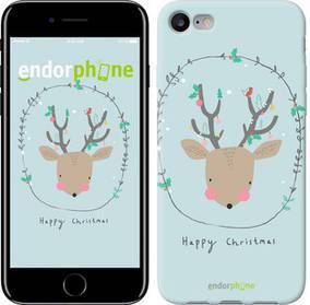 """Чехол на iPhone 7 Happy Christmas """"4185c-336-450"""""""
