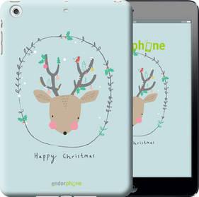 """Чехол на iPad mini 3 Happy Christmas """"4185c-54-450"""""""