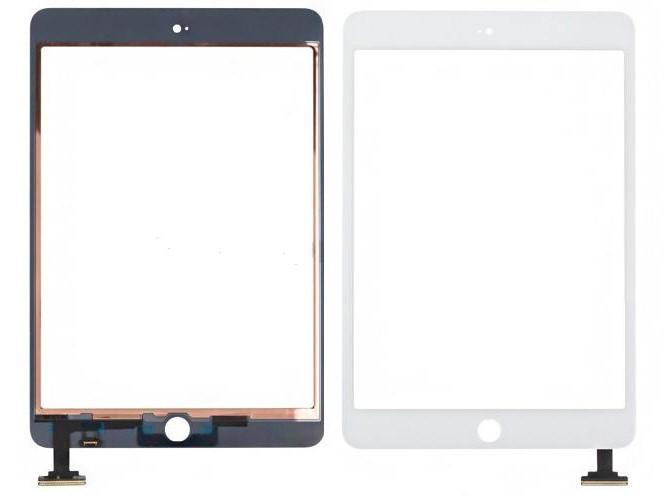 Cенсорное стекло (Touch screen) iPad mini  белое