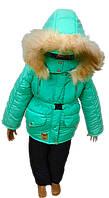 """Куртка детская осень-зима для девочек """"Мята"""""""