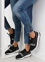 03-12 Черные спортивные женские кроссовки NB155P 38,39,40,41,36,37