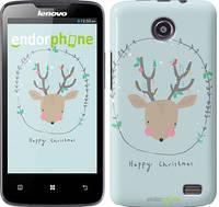 "Чехол на Lenovo A820 Happy Christmas ""4185c-68-450"""