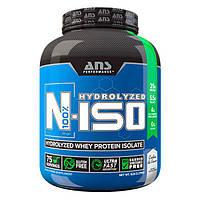 ANS Performance изолят сывороточного протеина N-ISO 100% Hydrolyzed печенье и крем 2,27 кг