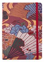 "Блокнот Modo Arte 80 листов ""Nagoya Obi"" на резинке 135*188 мм"